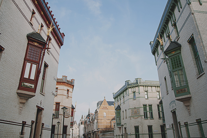 El barrio de Zurenborg