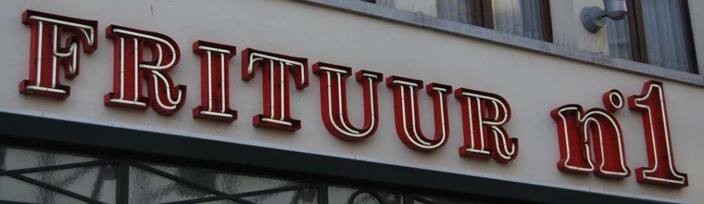 Frituur, cultura belga