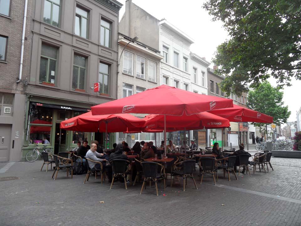 Cervecerías de Amberes II: especial Ossenmarkt