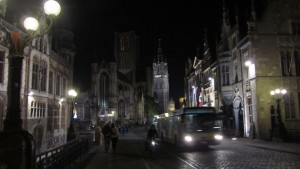 Noche en Gante