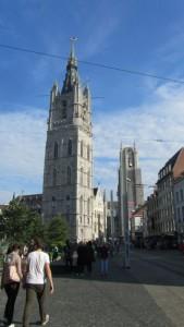 La torres de Gante