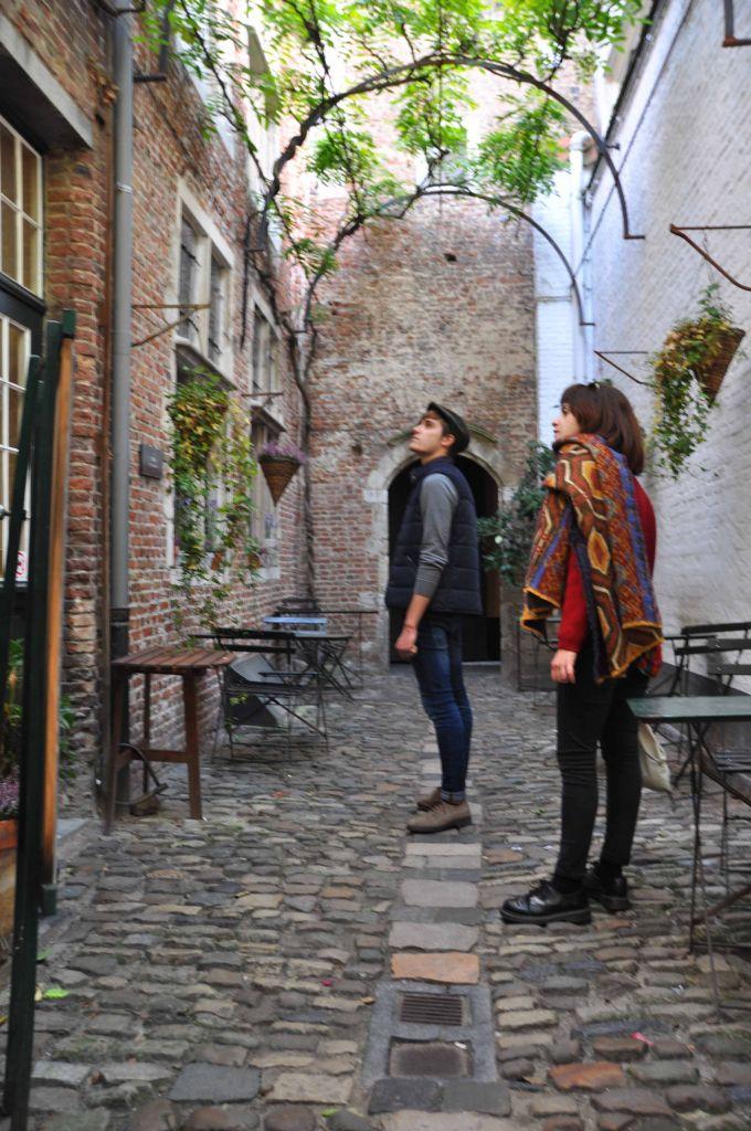 Las calles secretas de Amberes