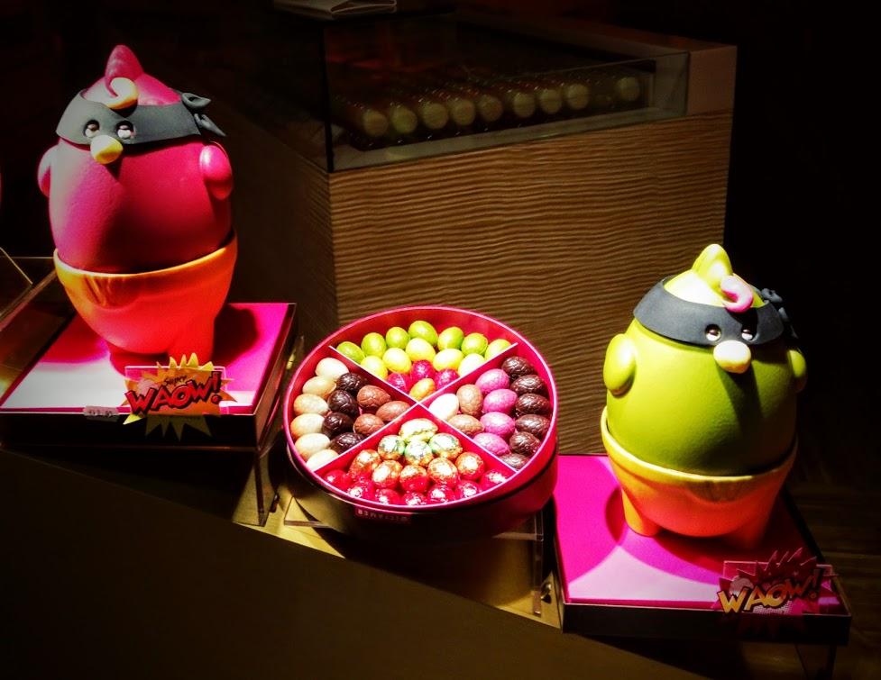 Angry Bird de Pascua El Arte del Chocolate en Bruselas - Angry Bird de Pascua - El Arte del Chocolate en Bruselas