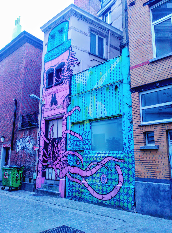 graffiti Amberes callejera - graffiti - Amberes callejera
