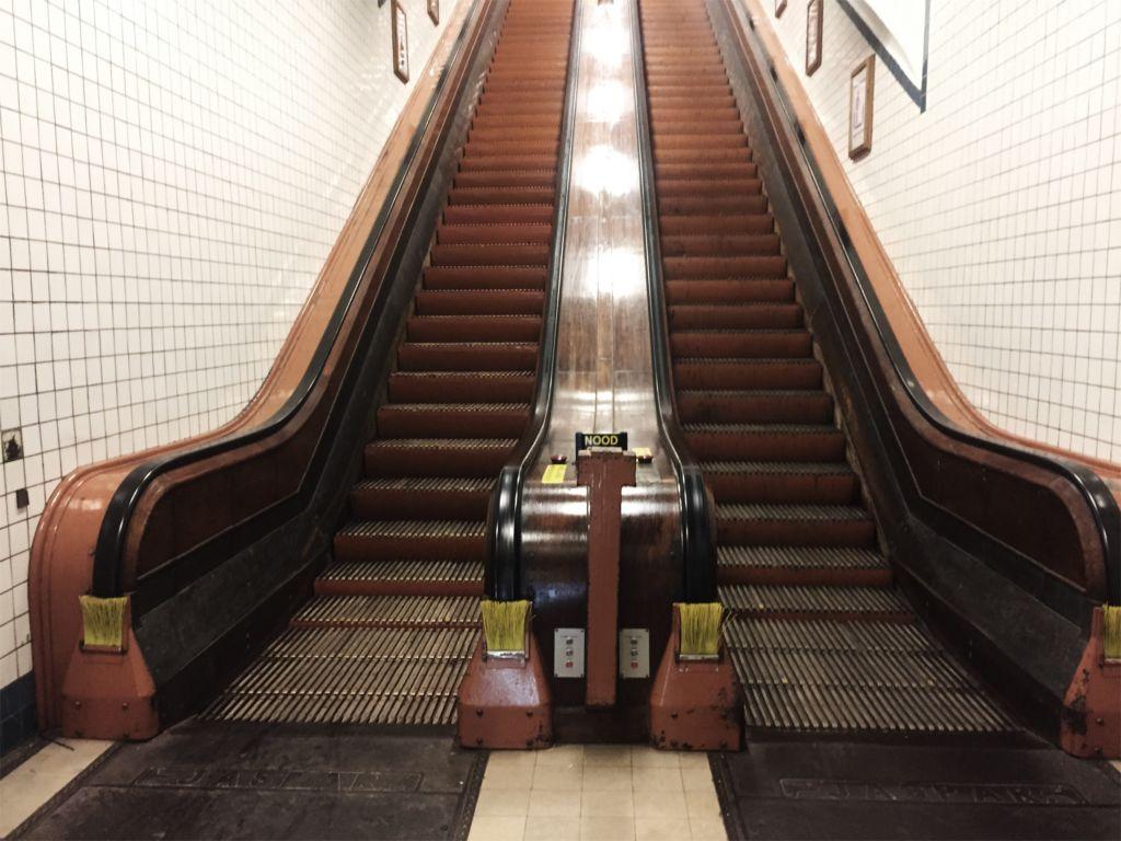 Las escaleras mecánicas más antiguas del mundo