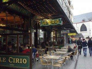 Le cirio en Rue de la Bourse 18