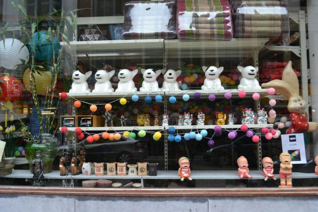 Barrio Chinatown en Bruselas