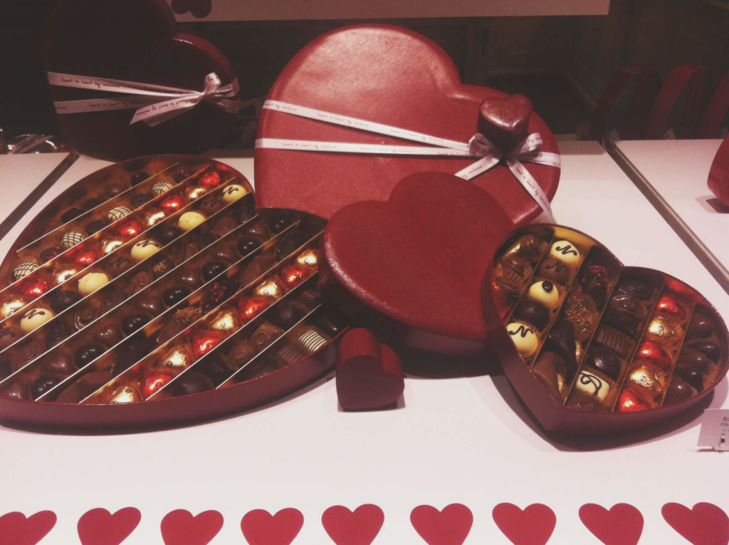 Chocolate de San Valentín