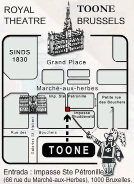 Cómo llegar al Teatro Toone