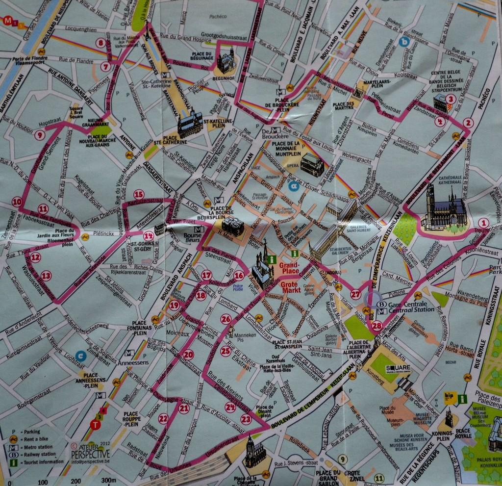 Carte Route Comics