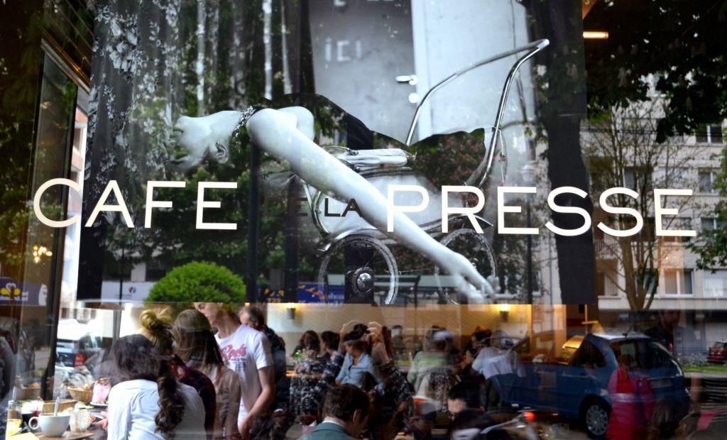 """Un soleado domingo comiendo un """"Brunch"""" en el apetecible Café de la Presse"""