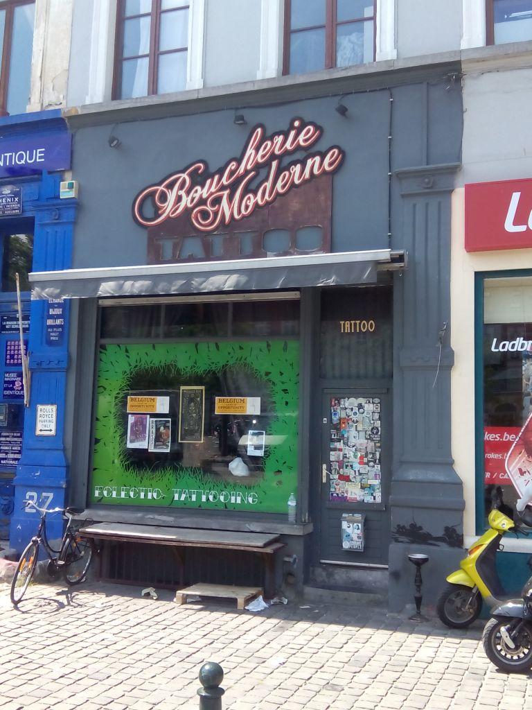 ¿Un buen tatuador en Bruselas?