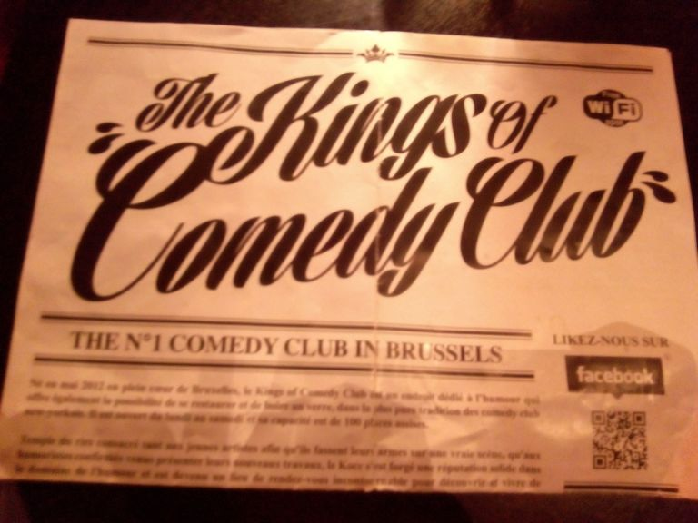 Kings of Comedy Club: los monólogos a cinco euros de Bruselas.