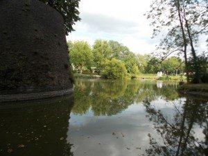 Estas son las vistas que podemos tener desde las murallas de Ypres