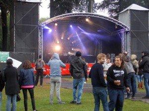 Muchos DJs y artistas pasaron por los cinco escenarios