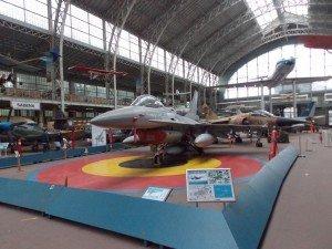 Aviones así podemos ver en el museo de Historia Militar