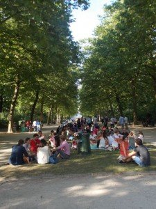 """Y así estaban los """"picnics"""" del Parque Real"""