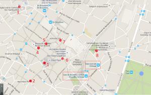 mapa centro