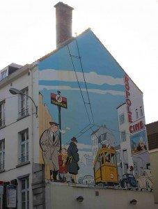 comic mural-1 La grandes historias detrás de los murales del cómic. - comic mural 1 227x300 - La grandes historias detrás de los murales del cómic.