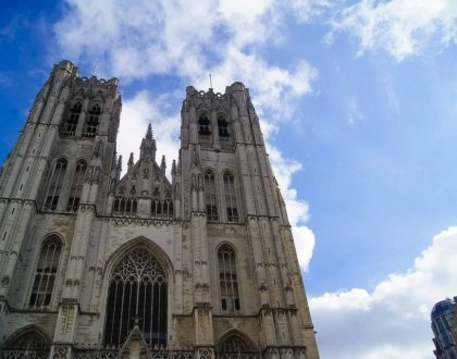 Conociendo un poco más a la catedral de San Miguel y Santa Gúdula de Bruselas.