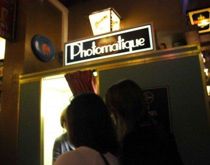 ¡Estrenando la cabina de fotos del Délirium Café!