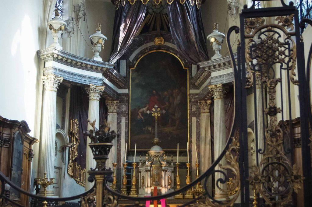 san nicolás-13 ¡Una iglesia con mucha historia al lado de la Bolsa! - san nicola  s 13 1024x680 - ¡Una iglesia con mucha historia al lado de la Bolsa!