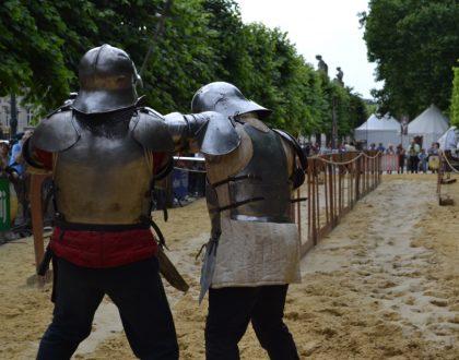 Ommegang: combates, justas, concursos de tiro...