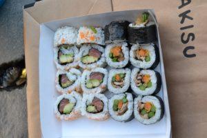 Yo probé el sushi Mushroom Kingdom y el Up the River, ambos deliciosos Makisu, un sushi innovador - DSC 0151 300x200 - Makisu, un sushi innovador