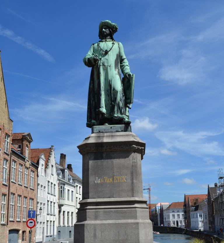 R la edad de oro de brujas, la plaza jan van eyck - DSC 0788 - La Edad de Oro de Brujas, la plaza Jan van Eyck