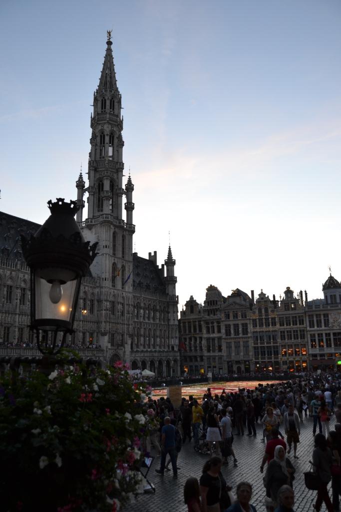 R Las flores cubren la Grand-Place, el tapiz floral bruselense - DSC 0422 - Las flores cubren la Grand-Place, el tapiz floral bruselense