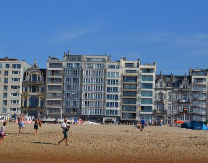 Ostende, una ciudad costera donde la fiesta no para