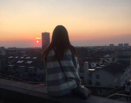 Sobre el cielo de Bruselas