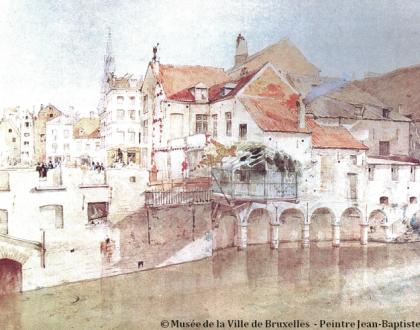El río Senne, el primer ciudadano de Bruselas