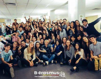 Express, ESN, vida universitaria Erasmus.