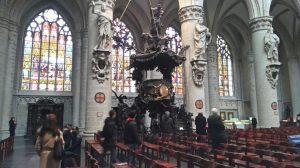 "Catedral de Bruselas…en ""free tour"" guiado - P  lpito 300x168 - Catedral de Bruselas…en ""free tour"" guiado"