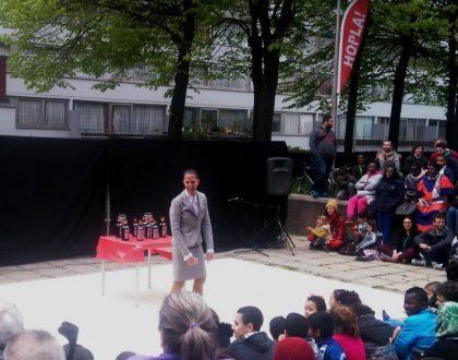 El circo vuelve otro año a Bruselas de la mano de Hopla Festival