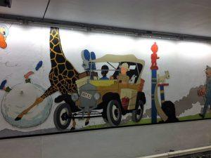 arte en las estaciones de metro - Stokkel 300x225 - ARTE EN LAS ESTACIONES DE METRO