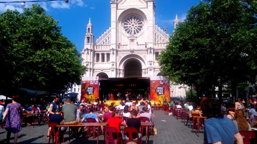 saxos, trompetas y guitarras: llegó el brussels jazz weekend - Brussel Jazz Weekend St Catherine 1 - Saxos, trompetas y guitarras: llegó el Brussels Jazz Weekend