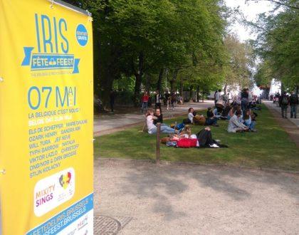 Bruselas abre sus brazos en la Fête de l'Iris