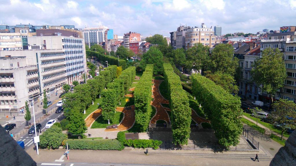 viaje al pasado por los museos de la ville de bruxelles y porte de hal - Vistas desde la Porte de Hal 2 - Viaje al pasado por los museos de la ville de Bruxelles y Porte de Hal