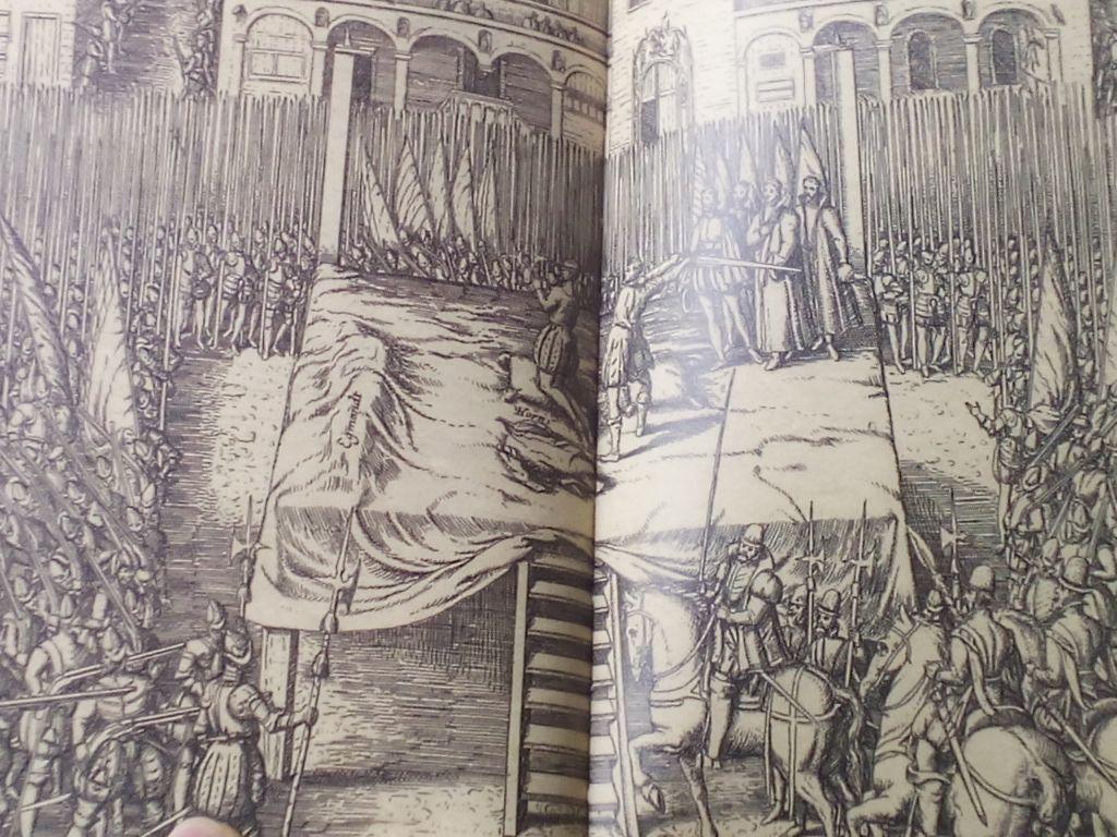 """- Decapitaci  n y Hornes 1 - Condes de Egmont y de Hornes, """"héroes belgas"""""""