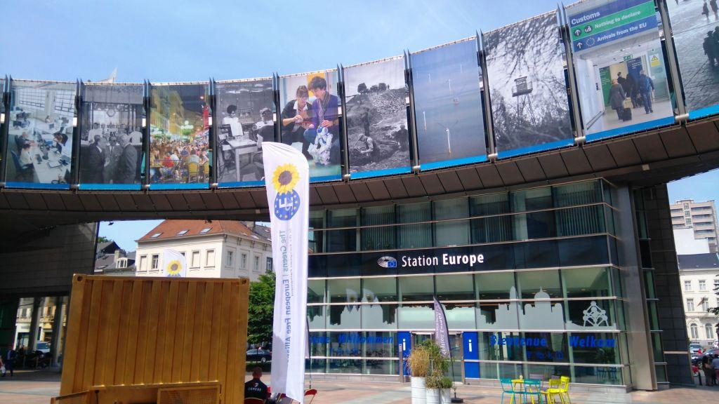 rutas ciclistas por bruselas (i) - El centro de la Uni  n Europea - Rutas ciclistas por Bruselas (I)