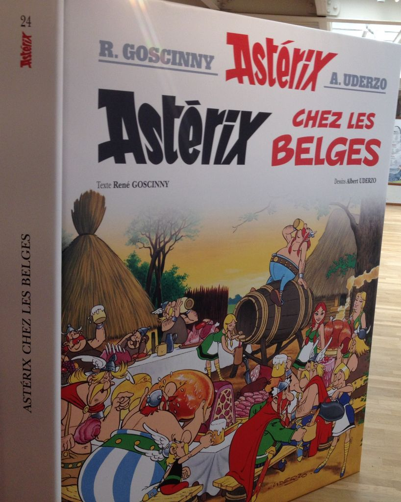 "el ""noveno arte"" en un edificio art nouveau - Expo Asterix 2 - El ""noveno arte"" en un edificio Art Nouveau"