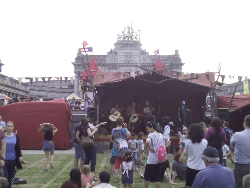 etterbeek vuelve a la edad media - Mercado medieval 8 - ETTERBEEK VUELVE A LA EDAD MEDIA