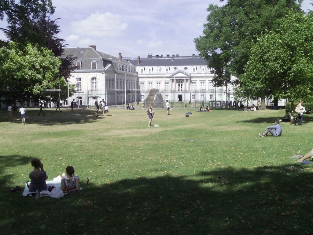 """- Parque de Egmont 5 - Condes de Egmont y de Hornes, """"héroes belgas"""""""