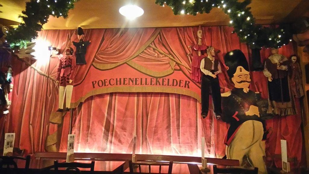 cervezas y marionetas en poechenellekelder - Teatro de marionetas de Poechenellekelder - Cervezas y marionetas en Poechenellekelder