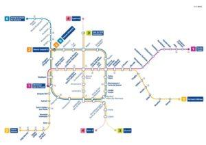 Mapa del metro de Bruselas el transporte público en bruselas - metro bruselas2 300x212 - El transporte público en Bruselas