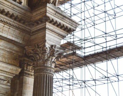 Palacio de Justicia en construcción