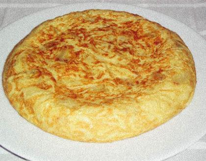 La tortilla de patatas es un plato Belga