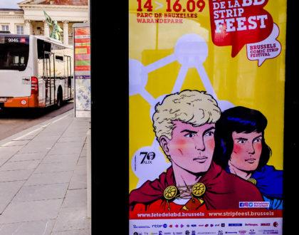 La Fiesta del Cómic en Bruselas